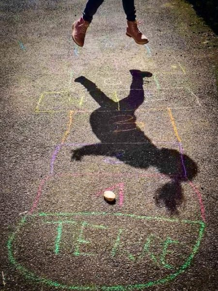 hopscotch game for kids