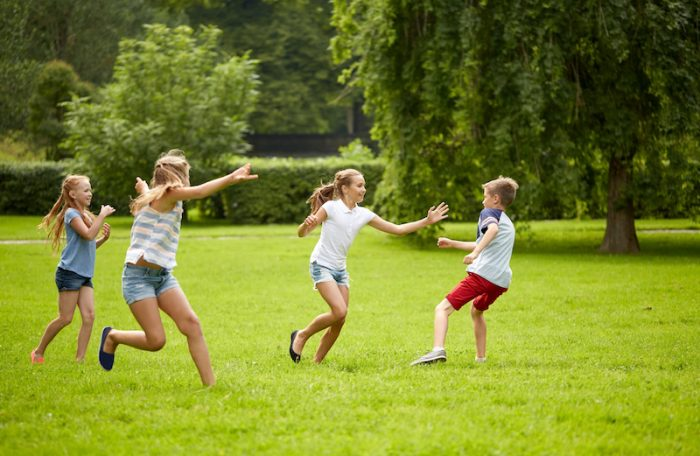 Tag games for kids party
