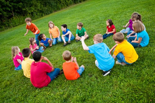 Duck Duck Goose party game for kids