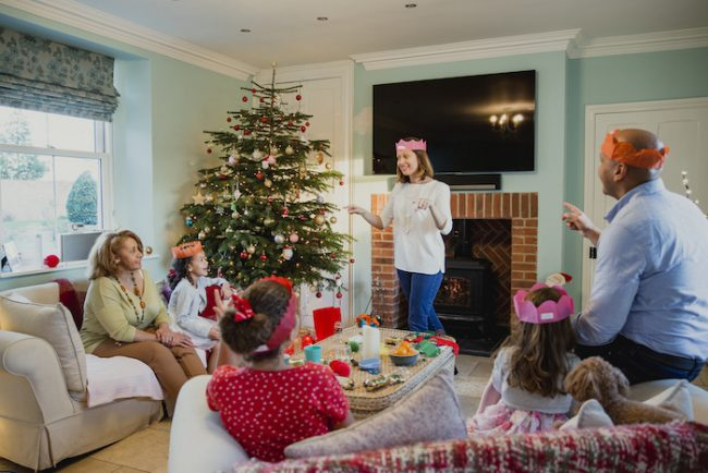 Christmas Minute to Win It game