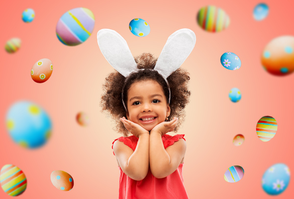 Easter toss game
