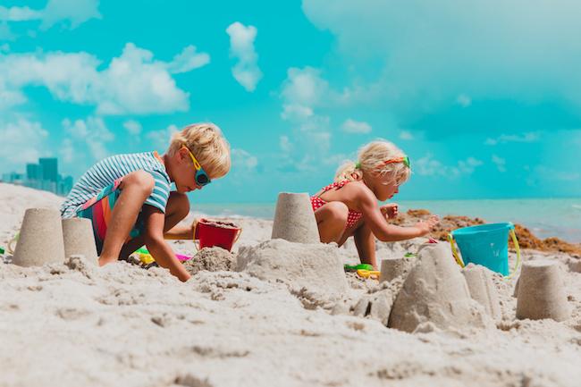 sand castle race